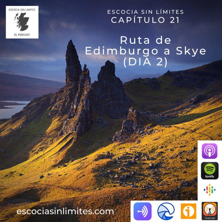 Ruta Edimburgo Isla de Skye (día 2)