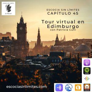 Tour virtual en Edimburgo