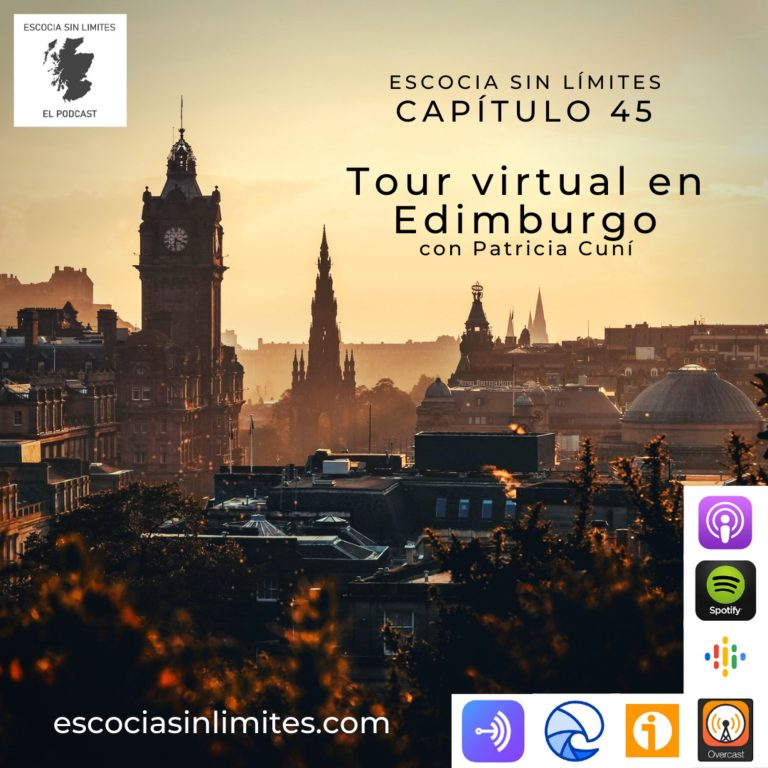 Tour virtual en Edimburgo